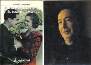Porta del libro: El enamoramiento y el mal de amores. Alberto Orlandini.